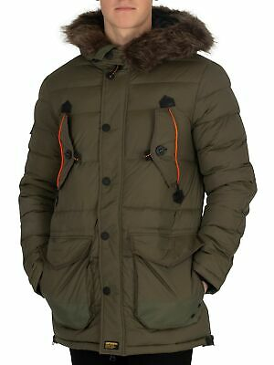 SUPERDRY HOMME VESTE de campagne Heavy Rookie Heavy Weather