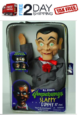 """Slappy Dummy Ventriloquist Doll Famous """"Star of Goosebumps"""" NEW"""