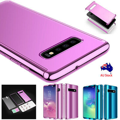 PC Plating Hard Thin Mirror Case Cover For Samsung Galaxy S10/S10e/S9/S8+ Plus