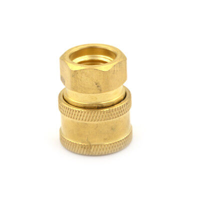 "Pressure Washer 3/8"" Quick Connect Coupler Disconnect Socket 3/8"" Female NPT WL"
