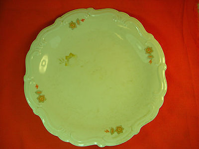 Old Antique Independent Lithuania Dinner Plate, Large, Hand Engraved Nr. 165