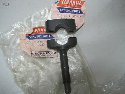 Yamaha Nos Handle Bar Holder 256-23441 & 442 R5  Xs1 Xs2 Ds7 Rd350 Rd400 Xs650