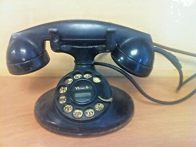 Western Electric Vintage Telephone Rotary Dial Desk Telephone - G/C & F/Ship.