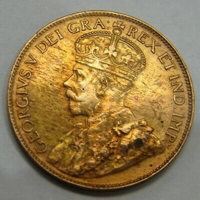 Canada - 1920 - Large Cent - Nice Grade & Lustrous
