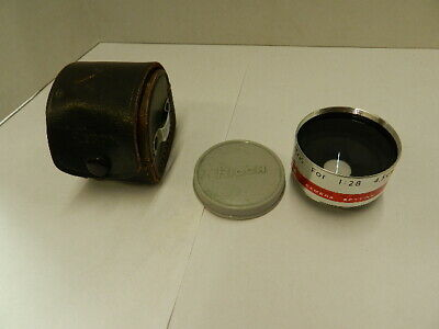 Ricoh Aux Wide-Angle Lens for 1:28  4.5cm - w/case