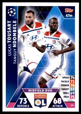 Topps Champions League 18//19 Tanguy Ndombele Sticker 358