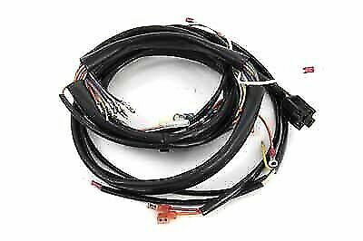 89-93 HARLEY FXR main wiring harness loom ignition fuses relay ... on harley clutch rod, harley clutch diaphragm spring, harley wiring tools, harley stator wiring, harley wiring color codes, harley headlight harness, harley tow bar, harley dash wiring, harley wiring kit, harley crankcase, harley motorcycle stereo amplifier, harley trunk latch, harley dash kit, harley choke lever, harley belly pan, harley headlight adapter, harley banjo bolt, harley timing chain, harley bluetooth interface, harley wiring connectors,