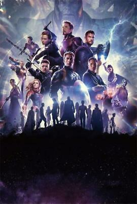 Avengers Endgame Movie Wordless Version Art Decor Print Poster 40x27 36x24""