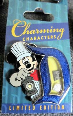 Disney Parks   Charming Characters  Conductor Mickey   Pin LE 3000  NEW