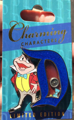 Disney Parks   Charming Characters  Mr Toad Pin  LE 3000  NEW