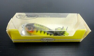 "Fred Arbogast VINTAGE LURES ""Stanley Hardware"" Promotional Jitterbug, Early 70's"