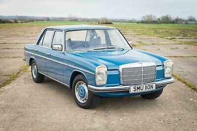 1974 Mercedes-Benz W115 230.4 - 43K Miles - FSH - Power Steering/Automatic