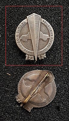 ISRAEL BADGE PIN  JEWISH  garage association RARE VINTAGE - RARE TYPE