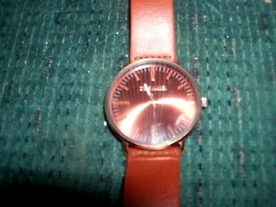 a7ed1d4f084c STEVE MADDEN WATCH with Brown Leather Band -  9.99