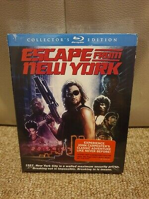 Escape From New York : 2 Disc Bluray SEALED (Region A) Collectors edition.