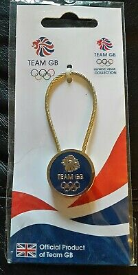 Olympics London 2012 - Blue Team GB Metal Keyring