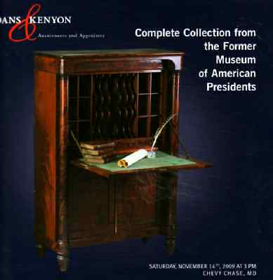 Sloans & Kenyon Complete Collection From The Former Museum Of American President