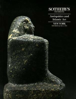Sotheby's Antiquities And Islamic , Classical, Egyptian & Western Asiatic Works