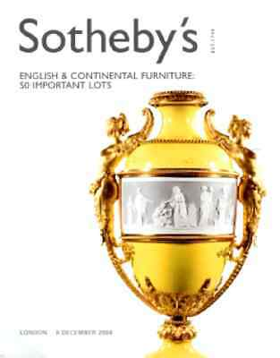 Sotheby's English & Continental Furniture 50 Important Lots