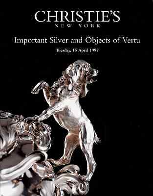 Christie's Important Silver & Objects Of Vertu Ny