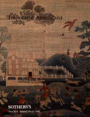 Sotheby's Important Americana Ny Collections
