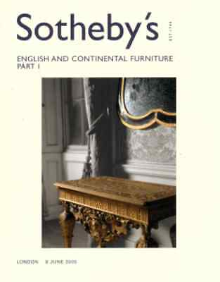 Sotheby's English & Continental Furniture Part I