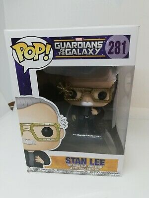 Funko POP ! Stan Lee Cameo Guardian of the galaxy  #281 - Limited Edition