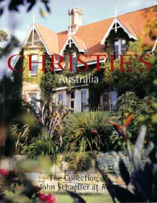 Christie's The Collection Of John Schaeffer At Rona Sydney