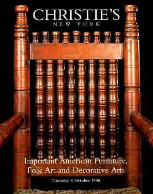 Christie's Important American Furniture , Folk Art And Decorative Arts