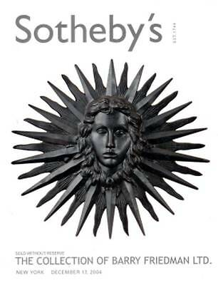 Sotheby's Collection Of Barry Friedman Important 20Th Century Furniture +