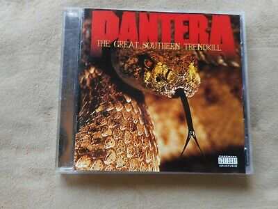 """Pantera """"The Great Southern Trendkill"""" Cd 1996 Drag The Waters"""