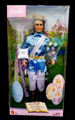 Vintage Barbie Doll Prince Ken - Fairy Tale Collection 2003 Fantasy Tales NEW