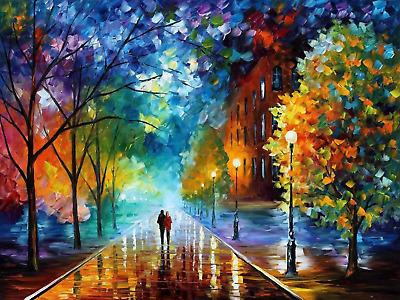 Suntown Wooden Framed Paint by Numbers 40x50cm Canvas Diy Oil Painting for Kids,