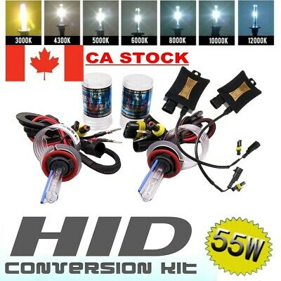 55W HID Xenon Headlight Conversion Kit Beam Bulbs H1 H4 H7 H8 H11 9005 9006 9004