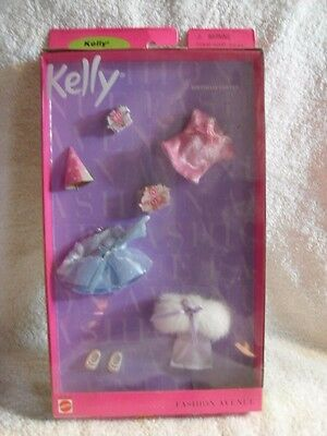 KELLY BIRTHDAY PARTY FASHIONS OUTFITS Fashion Avenue 1999 Mattel Barbie