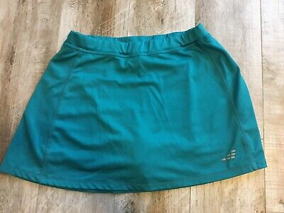 BCG Womens Teal Green Tennis/Golf Skort Skirt with built In Shorts -sz S