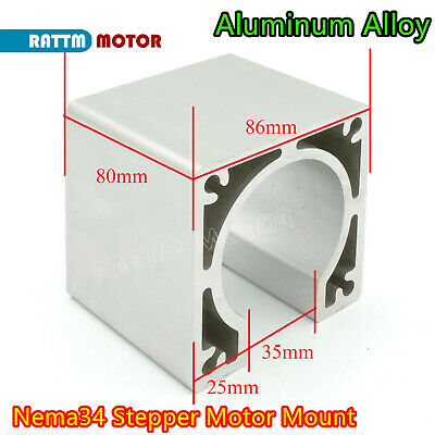 Alloy Aluminum Nema34 86 Stepper Motor Bracket Mounts Holder Support CNC Router