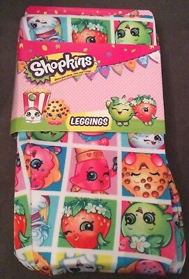 New Shopkins Leggings Pants Girls Available In Size 4