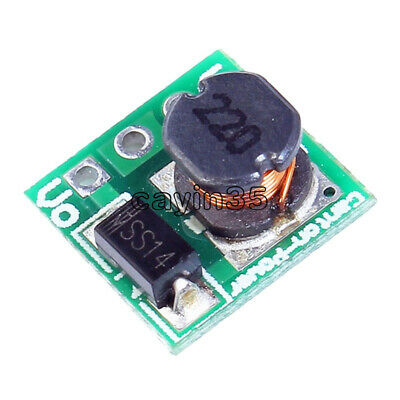 5X DC 1.8V 2.5V 3V 3.3V 3.7V To 5V Step Up Power Voltage Boost Converter Board