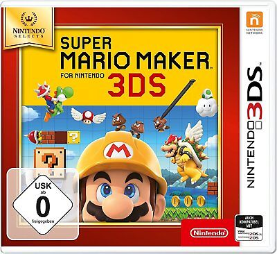 Super Mario Maker 3DS SELECTS 3DS Neu & OVP
