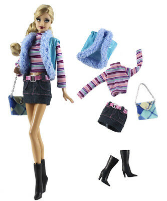 1 Set Fashion Handmade Doll Clothes Outfit for 11.5in.Doll L14