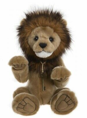 Charlie Bears - Goliath - Lion - Queen's Beast Collection - Brand New With Tags