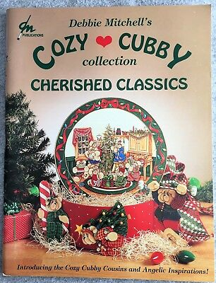 Debbie Mitchell Cozy Cubby Cherished Classics Cousins Angels Decorative Painting