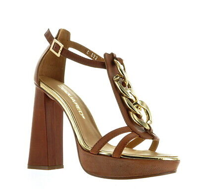 1299 Dsquared shoes Metallic Real Leather Size US 9 IT 39