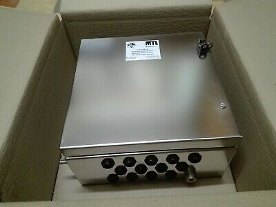 Stainless Steel Enclosure 306H x 306W x 160D. S316 grade.