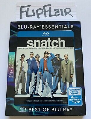 Snatch Blu Ray With Blu-Ray Essentials + Slipcover Sleeve