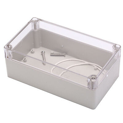 waterproof plastic case for electronic project enclosure box 158x90x60mm vbuk