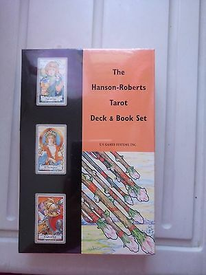 Free Ship! NEW & SEALED Hanson-Roberts Tarot Deck and Book Set Rare collectable