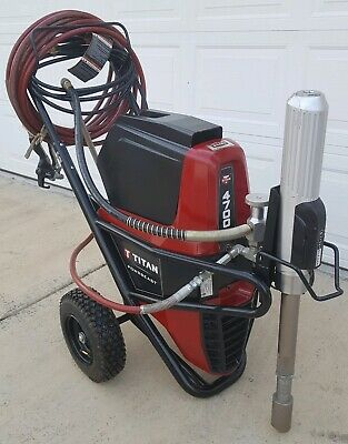TITAN SPEEFLO PowrBeast 4700T,HYDRAULIC ELECTRIC AIRLESS TEXTURE & PAINT SPRAYER