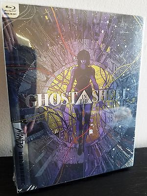 MONDO #018 GHOST IN THE SHELL Blu-Ray U.S. Exclusive STEELBOOK Clear Slipcover